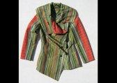 Veste à plis en laine et soie (Japon)