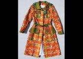 Manteau en laines assemblées