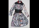 Robe en soies japonaises