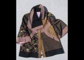 Veste à découpes en laine