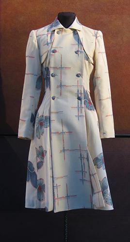 Manteau en laines légères japonaises